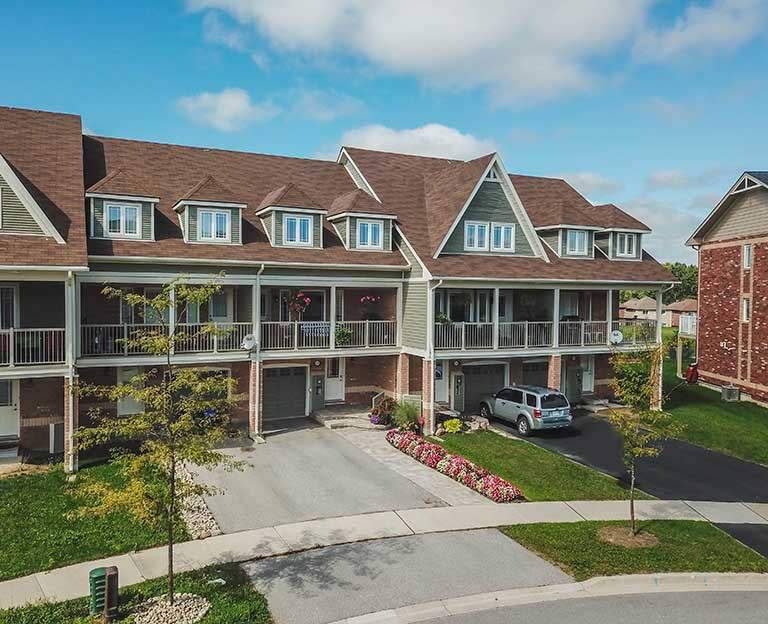 Aerial Real Estate Photography in Barrie